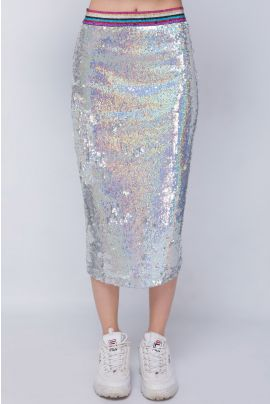 ELEGANCE SEQUIN SKIRT