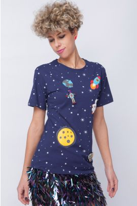 ELEGANCE SPACE GIRL SHIRT