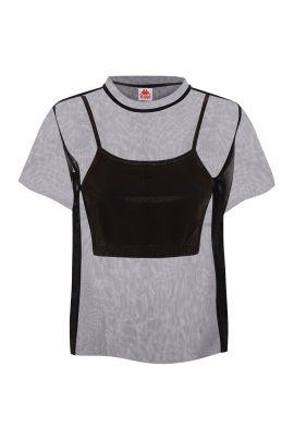 Kappa Eder black t-shirt