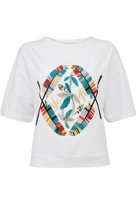 Yaya T-Shirt with Embroidery