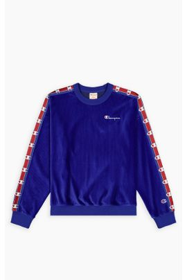 Corduroy Logo tape sweatshirt
