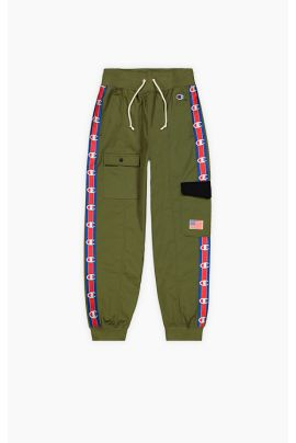 Logo Tape Utility Cuffed Track Pants