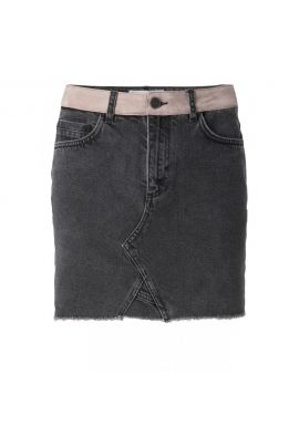 YAYA Western denim skirt