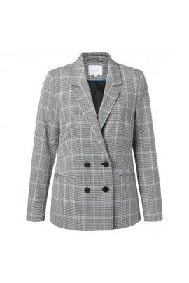 YAYA Slim fit double breasted blazer