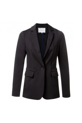 YAYA Jersey slim-fitted blazer