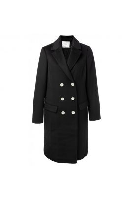 YAYA Wool double-breasted coat