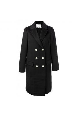 YAYA Wool double-breasted coat