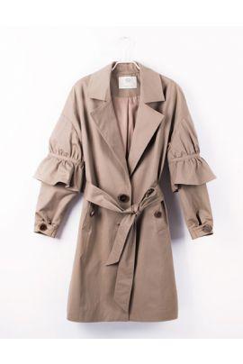 Cubic Beige Coat