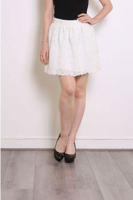 Daphnea Mini Lace Skirt