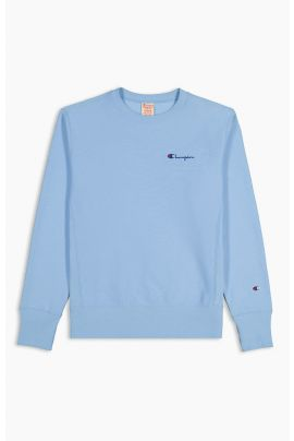 Script Logo Reverse Weave Sweatshirt