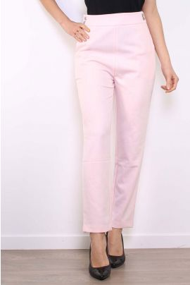 Daphnea High Waist Pink Pants