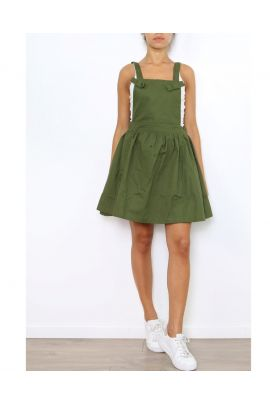 Daphnea Khaki Dress