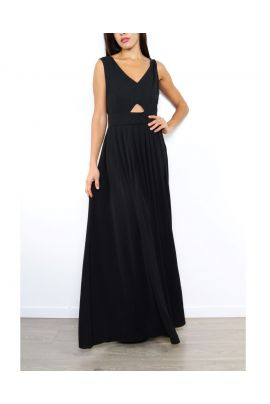 Daphnea Maxi Dress with Open Back