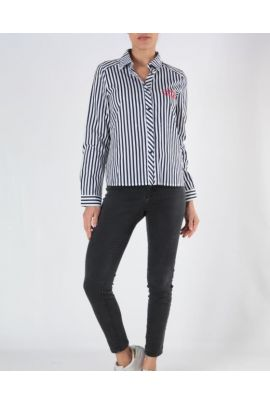 DAPHNEA STRIPED SHIRT