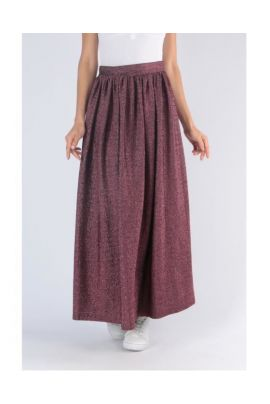 DAPHNEA MAXI SKIRT WITH PRESSES
