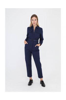 Daphnea blue jumpsuit
