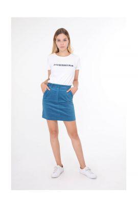 Daphnea corduroy skirt