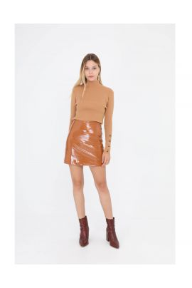 Daphnea short leather skirt ( + colors )