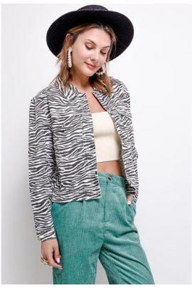Daphnea Zebra Jacket