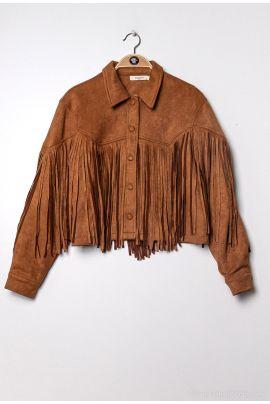 Daphnea Fringed Jacket