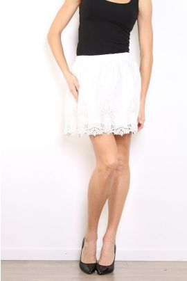 Daphnea Skirt with Lace Detail