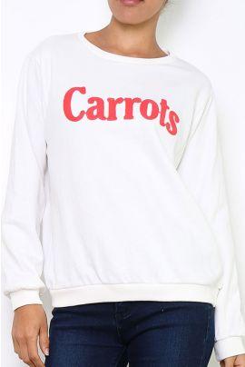 Daphnea Carrots Sweater