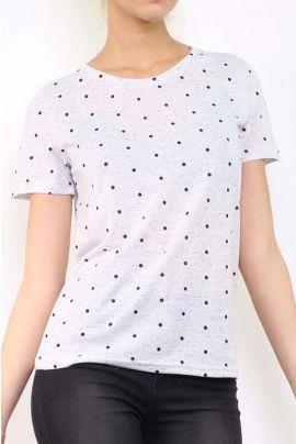 Daphnea Polka Dot T-Shirt
