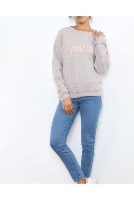 Daphnea Lipstick Sweater