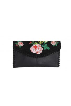 Street Level Embroidery Clutch