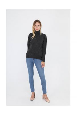 Daphnea turtleneck knitted blouse ( + colors )