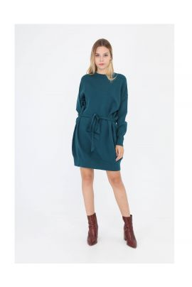 Daphnea knitted dress with belt ( + colors )