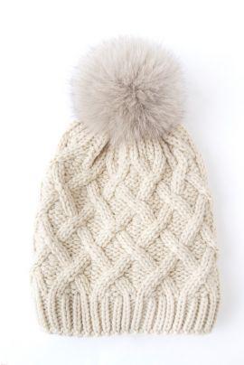 FURS knit beanie