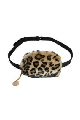 ALEX MAX ANIMAL PRINT CHATELAINE BAG