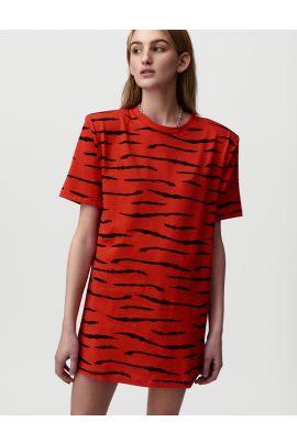 Hemera T-shirt dress - Zebra