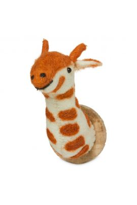 YAYA Magnet with woolen giraffe