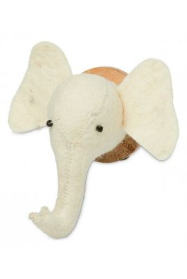 YAYA Magnet with woolen elephant