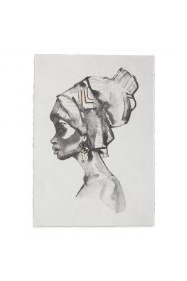 YAYA Poster A3 lady bandana