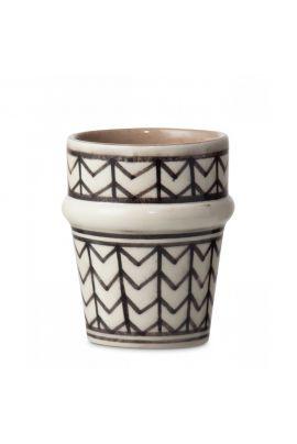 YAYA Moroccan cup zigzag
