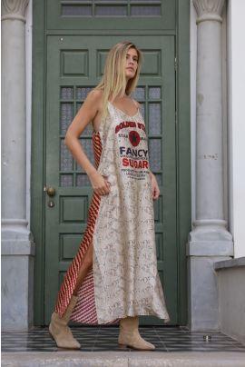 ELNA PRINTED CAMISOLL DRESS
