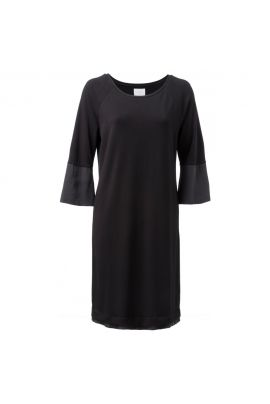 YAYA Jersey fabric mix dress