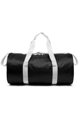 Kappa Exxi black unisex duffle bag